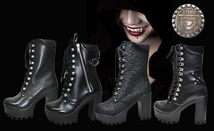 goth heels