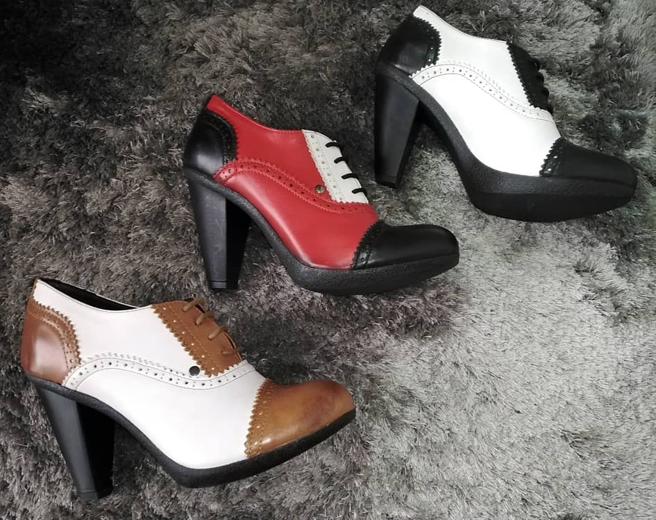Sapato Linda brogue x3